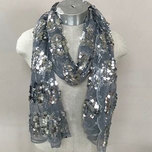 Cejon Sequined Scarf